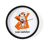 Bad Bunny Wall Clock