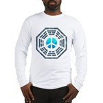 Dharma Blue Peace Long Sleeve T-Shirt