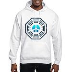 Dharma Blue Peace Hooded Sweatshirt