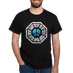 Dharma Blue Peace Dark T-Shirt