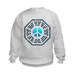 Dharma Blue Peace Kids Sweatshirt