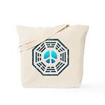 Dharma Blue Peace Tote Bag