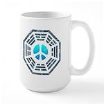 Dharma Blue Peace Large Mug