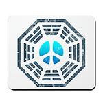 Dharma Blue Peace Mousepad