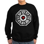 Dharma Red Heart Sweatshirt (dark)