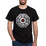 Dharma Red Heart Dark T-Shirt