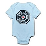 Dharma Red Heart Infant Bodysuit