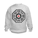 Dharma Red Heart Kids Sweatshirt