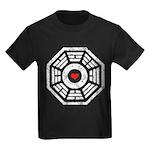 Dharma Red Heart Kids Dark T-Shirt