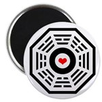 Dharma Red Heart Magnet