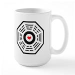 Dharma Red Heart Large Mug