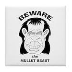 Mullet Beast Tile Coaster