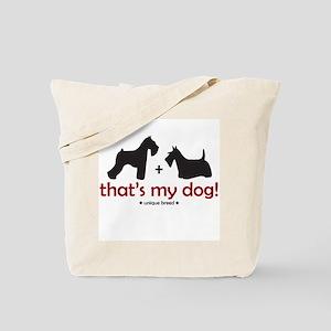 Schnauzer/Scottie Tote Bag