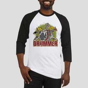 Skeleton Drummer Baseball Jersey