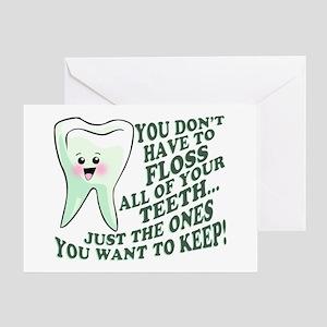 Encourage Dental Hygiene Greeting Card