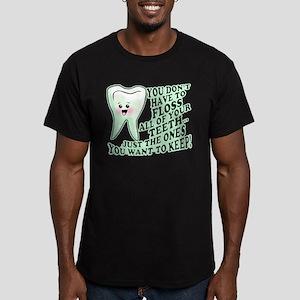 Funny Dental Hygiene Men's Fitted T-Shirt (dark)