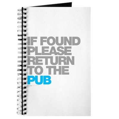 If Found Please Return To The Pub Journal