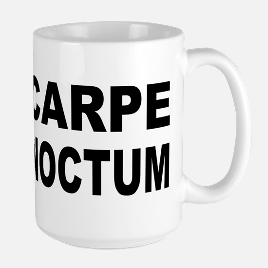 Carpe Noctem Noctum Large Mug