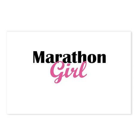 Marathon Girl Postcards (Package of 8)