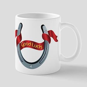Horseshoe Good Luck Mug