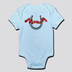 Horseshoe Good Luck Infant Bodysuit
