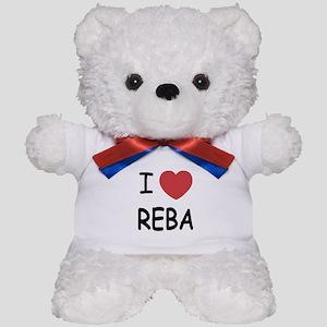 I heart Reba Teddy Bear