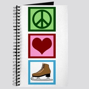 Peace Love Ice Skating Journal