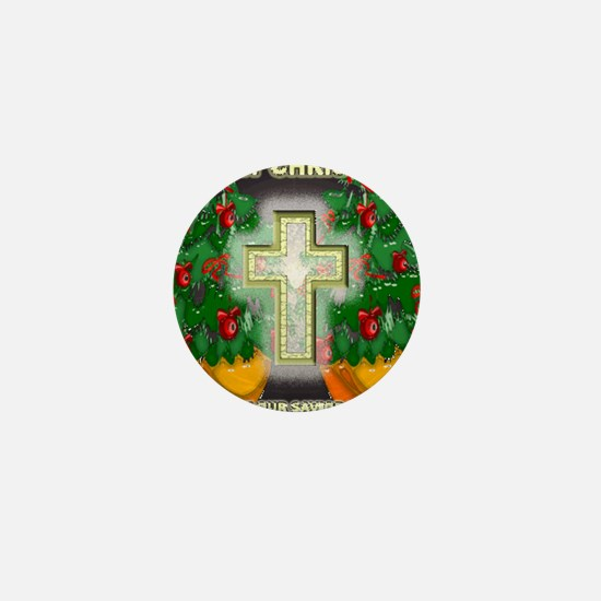 Christmas Savior Mini Button