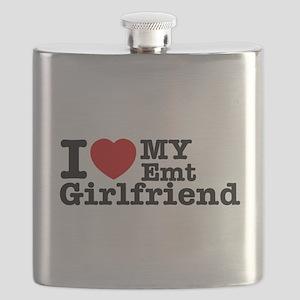 I love my EMT Girlfriend Flask