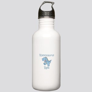 Mom, Dad, & Rileyosaurus Stainless Water Bottl