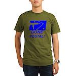 Gone Postal Organic Men's T-Shirt (dark)