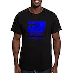Gone Postal Men's Fitted T-Shirt (dark)