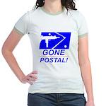 Gone Postal Jr. Ringer T-Shirt