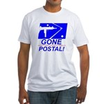 Gone Postal Fitted T-Shirt