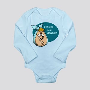 Toothache Long Sleeve Infant Bodysuit