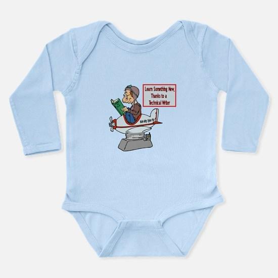 How To Long Sleeve Infant Bodysuit