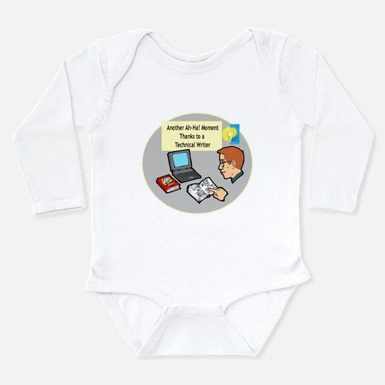 Software Manuals Long Sleeve Infant Bodysuit