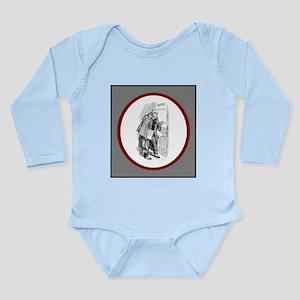 Writer Meets Editor Long Sleeve Infant Bodysuit