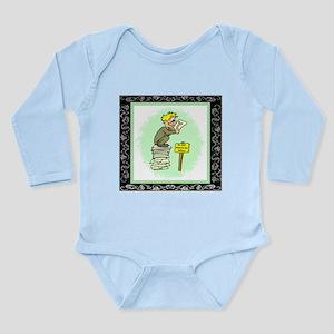 Editors Long Sleeve Infant Bodysuit