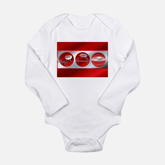 Bad to Good Long Sleeve Infant Bodysuit