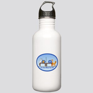 What You Eat Stainless Water Bottle 1.0L
