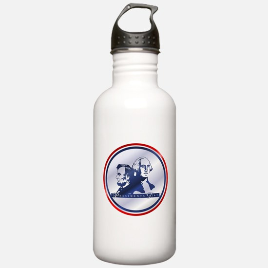 President's Day Water Bottle