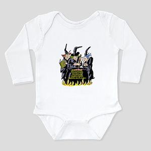 Macbeth1 Long Sleeve Infant Bodysuit