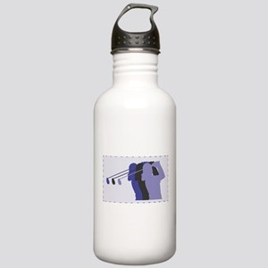 Lady Golfer Stainless Water Bottle 1.0L