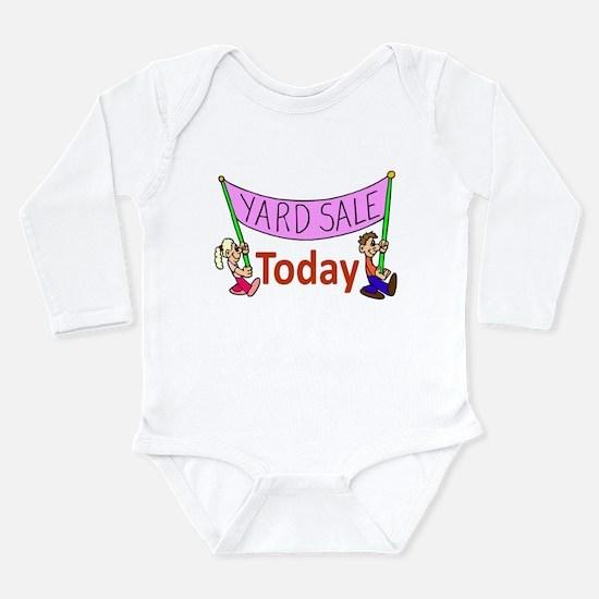 Yard Sale 2 Long Sleeve Infant Bodysuit