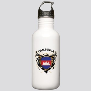 Cambodia Stainless Water Bottle 1.0L