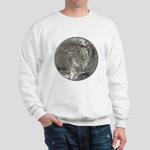 Peace Dollar Obverse Sweatshirt