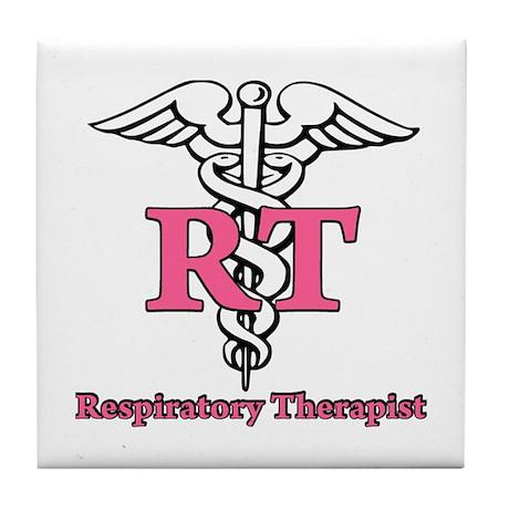 Respiratory Therapist Tile Coaster