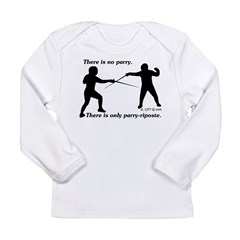 Parry-Riposte Long Sleeve Infant T-Shirt