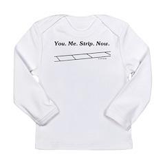 Strip Long Sleeve Infant T-Shirt